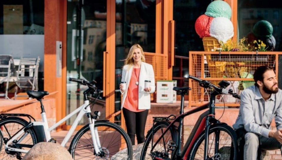 Elcyklen - kan også vælges af miljømæssige årsager!